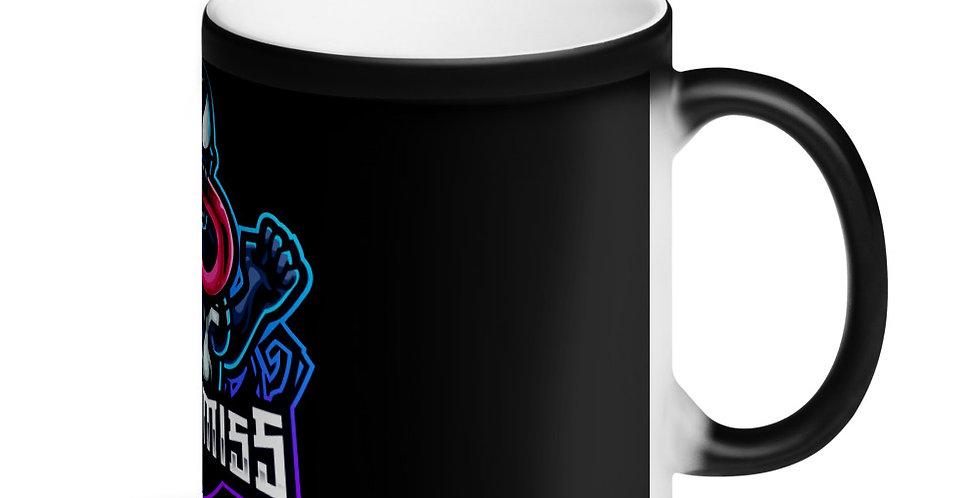 VENOMISS Matte Black Magic Mug