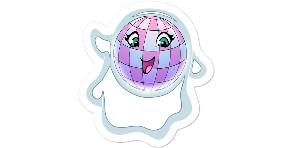 Disco Ghost stickers