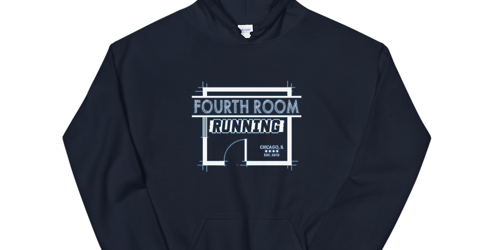 Fourth Room Brewing Fourth Room Running Unisex Hoodie