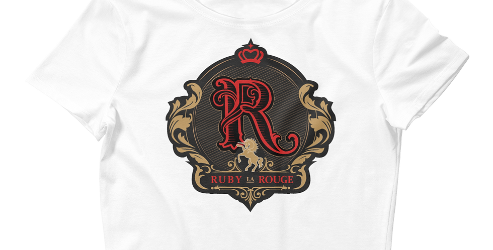 RubyLaRouge Logo Women's Crop Tee