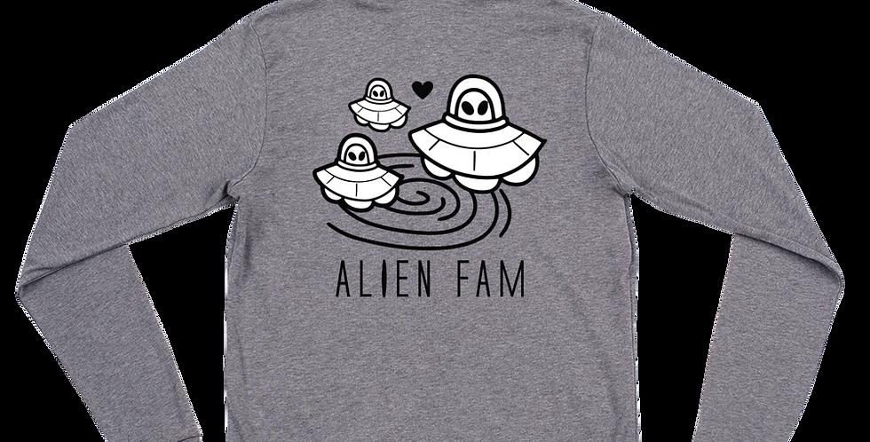 A 1000 Years Alien Fam Unisex zip hoodie