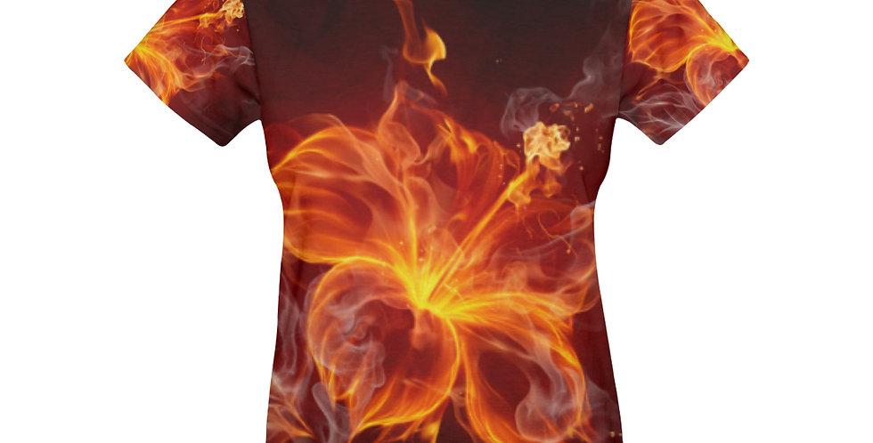 Women's All Over Print T-shirt (USA Size)