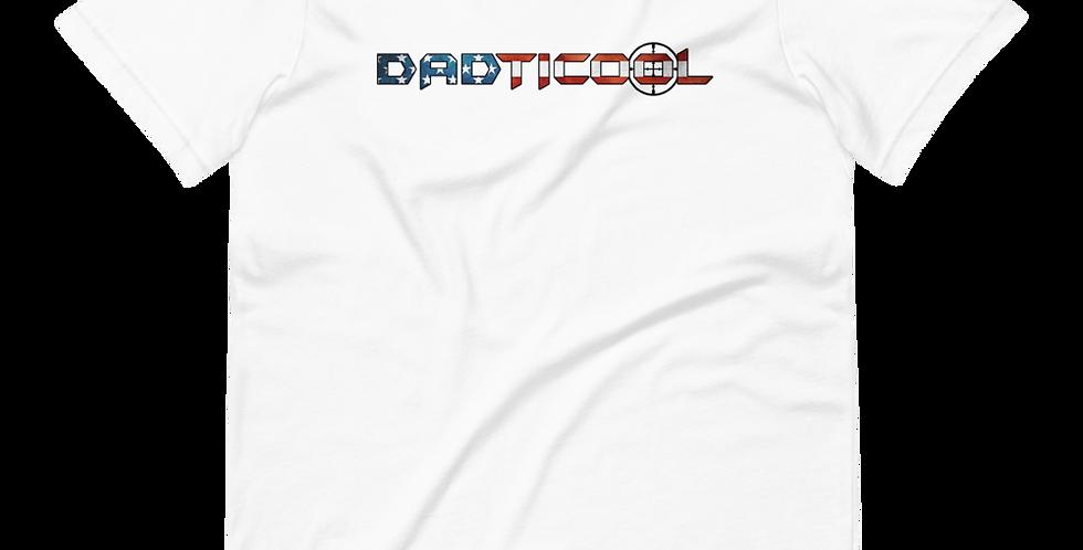 Dadticool Logo Light Color Short-Sleeve Unisex T-Shirt