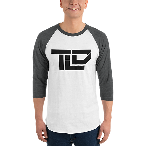 "TLD ""TheLostDrake"" StreetWear Collection 3/4 sleeve raglan shirt"