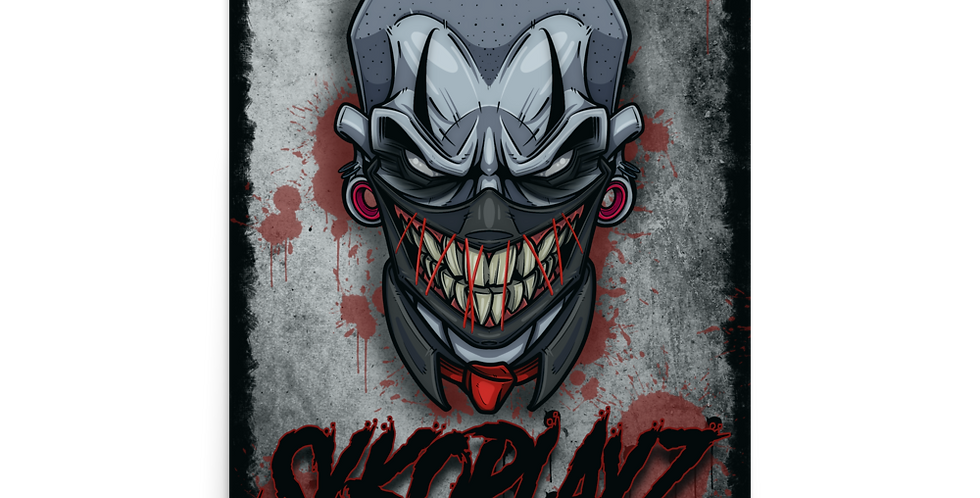 """SykoPlayz Poster 24""""x36"""""""
