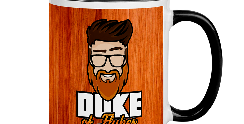 "Duke of Flukes ""The Woodie"" Mug"