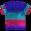 Thumbnail: MargoMagik Penny V-Neck All Over Print T-shirt