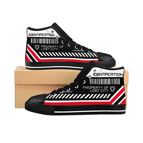 """""""INSPECTION PROPERTY"""" Women's High-top Sneakers"""