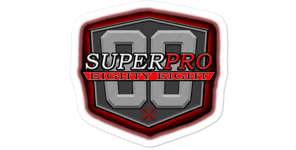 SuperPro88 Logo Bubble-free stickers