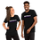 Thumbnail: #ALPHATWIN BLACK Short-Sleeve Unisex T-Shirt