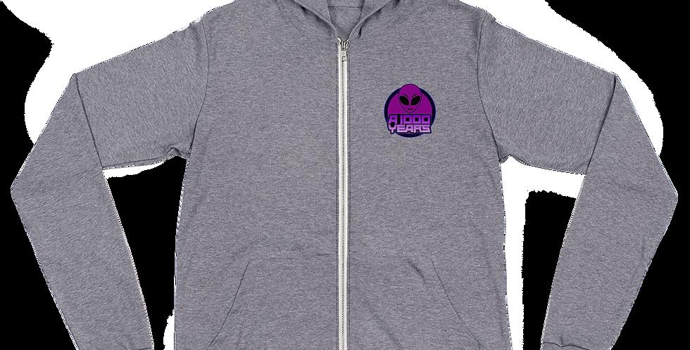 A 1000 Years Dreams Unisex zip hoodie