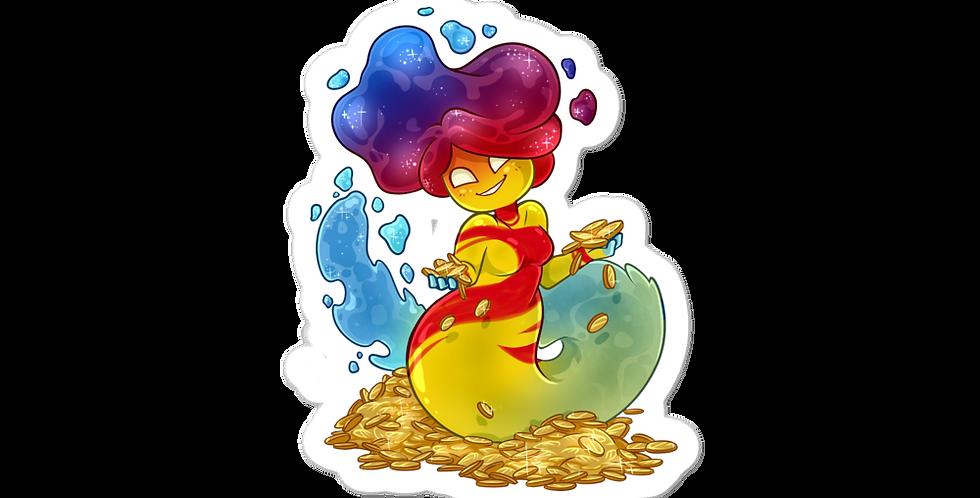 MargoMagik Penny Bubble-free stickers
