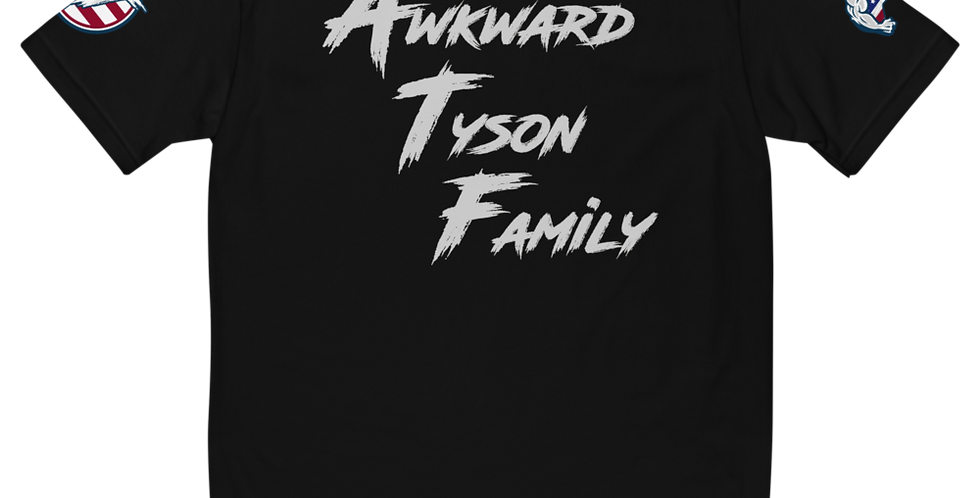 Awkward Tyson Family Fitted Short Sleeve T-shirt