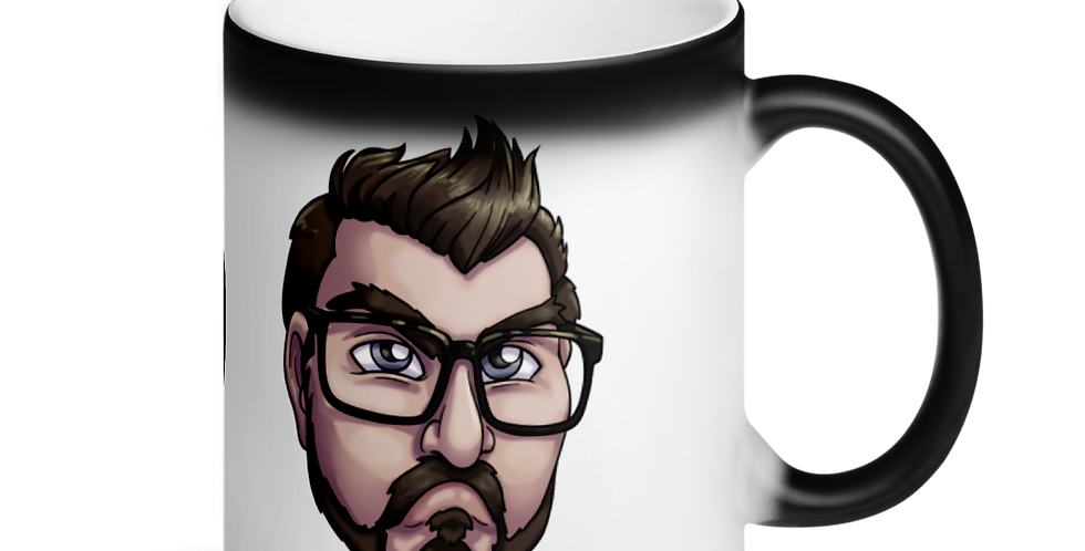 "MATT ""NO"" Matte Black Magic Mug"