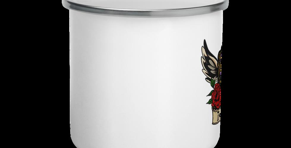 TattooAddict30 Enamel Mug