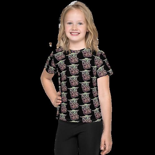 HYPE PWEASE BABY YODA Kids T-Shirt