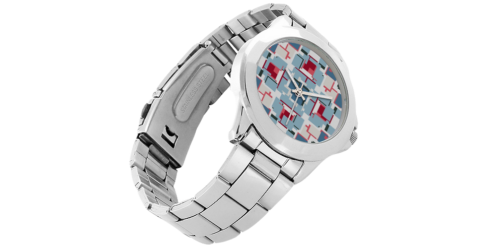Unisex Stainless Steel Watch