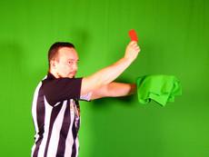 Studio photo thème football