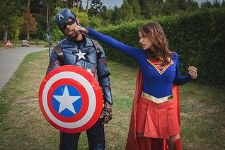 Captain America et Supergirl