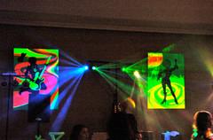 Décoration disco
