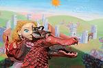 spectacle de marionnettes le trésor du dragon