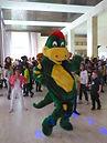 Mascotte Dinosaur