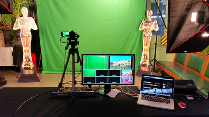 Studio photo chroma key