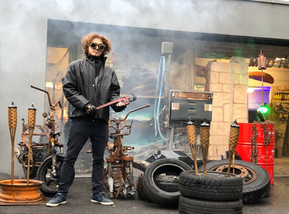 Réalisation d'un décor Mad Max