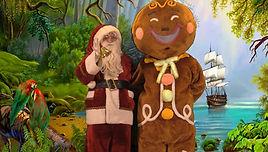 Mascotte et Père Noël