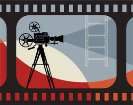 Panneau décoration cinéma