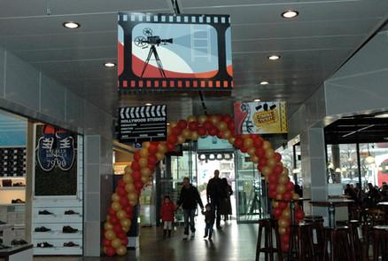 Coop décoration thème cinéma