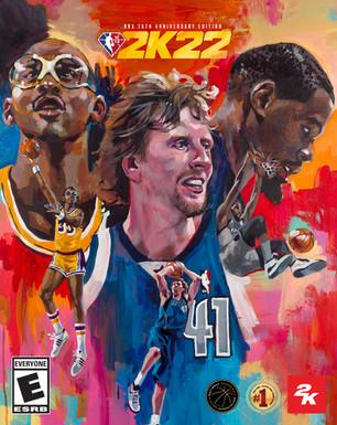 NBA 75th Anniversary Edition