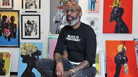 Charly Palmer retrospective highlights the artist's versatility