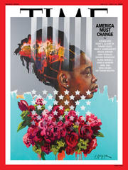Charly Palmer is Latest Artist Tapped to Illustrate Cover of Time Magazine