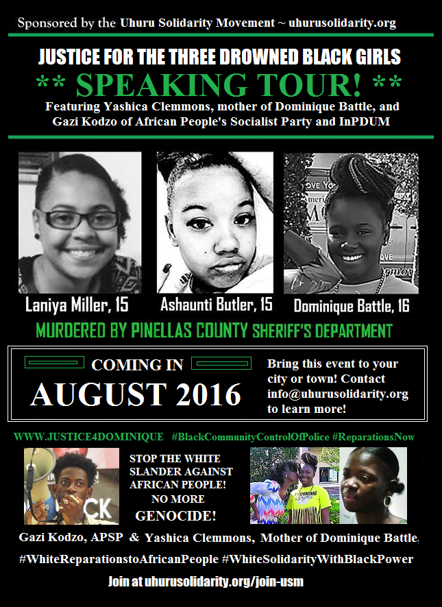 Justice for 3 Drowned Black Girls