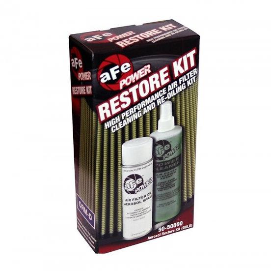 AFE Air Filter Restore Kit Aerosol Gold (Pro Guard 7 Layer Media Gold Filters)