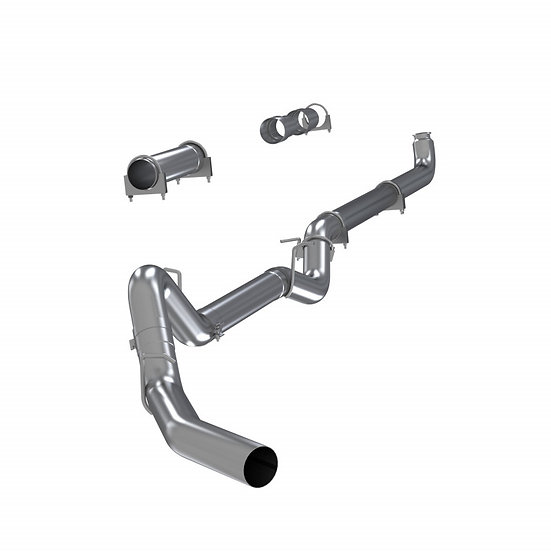 """MBRP 4"""" PLM Series Downpipe-Back Exhaust (2001-2007 6.6L Duramax)"""