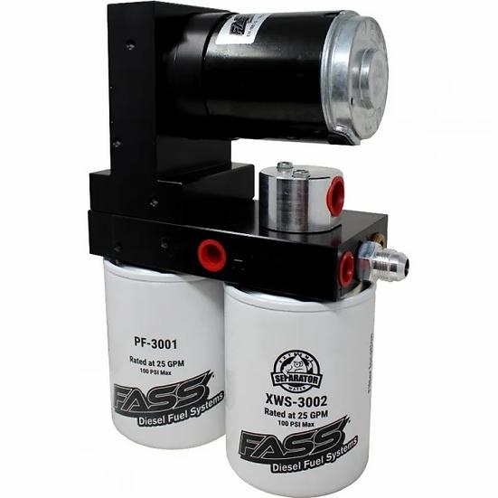 FASS Titanium Signature Series 100GPH Fuel System (2015-2016 GM 6.6L Duramax)