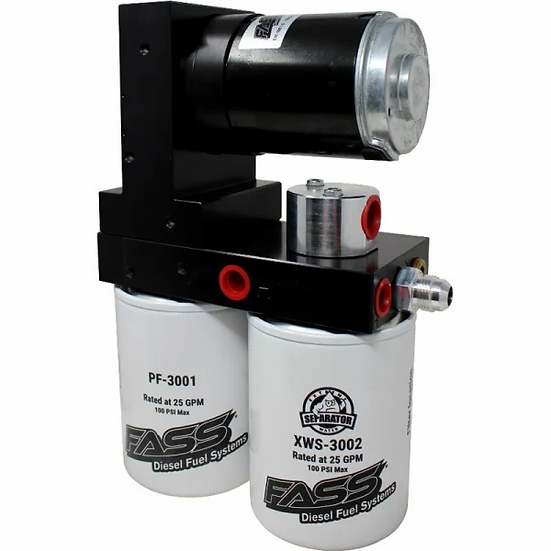 FASS Titanium Series 100 GPH (2011-2014 GM 6.6L Duramax Stock- Moderate)