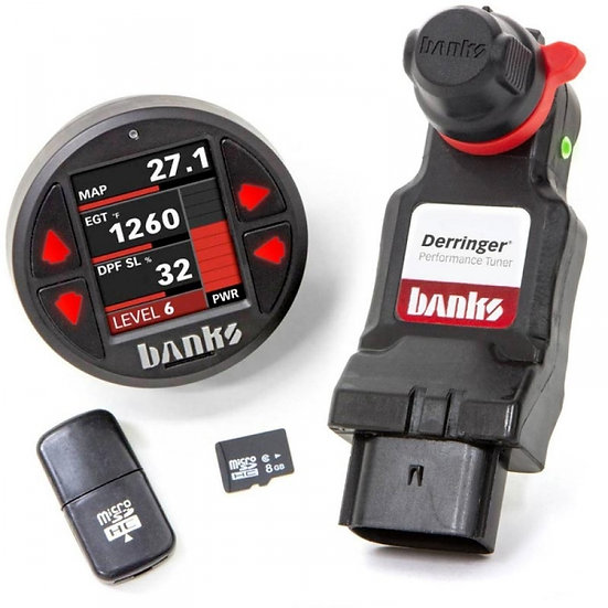 Banks Power Derringer Tuner (Gen2) W/ iDash 1.8 Datamonster (2011-2019 6.7L PSD)