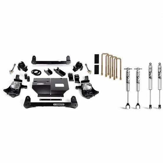 "Cognito 4"" Standard Lift Package w/Fox Shocks (2011-2019 GM 2500/3500)"
