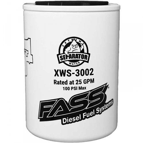 FASS Extreme Water Separator (Titanium or Titanium Signature)