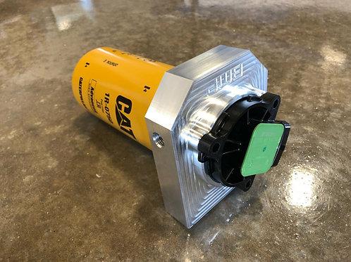 BMP Cat Fuel Filter Adapter (2017-2019 6.6L Duramax)
