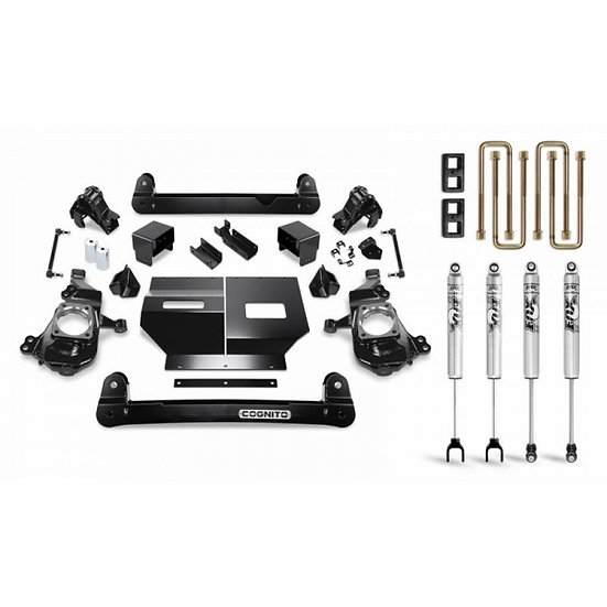 "Cognito 4"" Standard Lift Kit w/Fox Shocks (2020 GM 2500/3500)"
