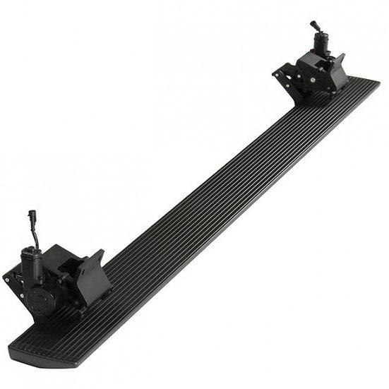 RBP Black Stealth Power Running Boards w/ Extended Drop(2010-2020 Ram 2500/3500)
