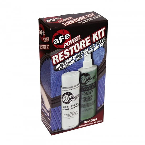 AFE Air Filter Restore Kit -Aerosol Blue (Pro 5 Layer Media Blue Filters)