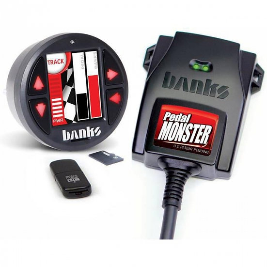 Banks Power PedalMonster (64322) w/iDash 1.8 SuperGauge