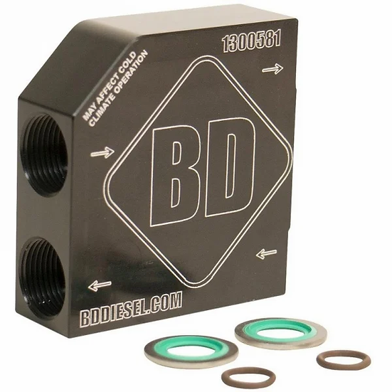 BD-Power Transmission Cooler Thermal Bypass (2019-2020 Ram 6.7L Cummins)