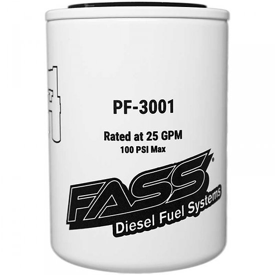 FASS Fuel Particulate Filter (Titanium or Titanium Signature Series)