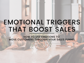 Boost Your Sales With These 9 Emotional Triggers